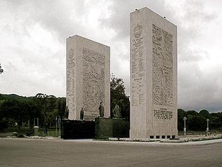 Paseo Los Próceres Monument in Caracas, Venezuela