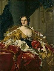 Louise-Élisabeth de Borbón 'Madame Infante' esposa de Felipe de Borbón y Farnesio duque de Parma
