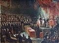 Louis-Philippe prêtant serment devant les Chambres, le 9 août 1830 by Ary Scheffer (Carnavalet P 1537).jpg