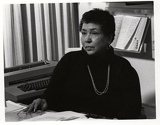 Louise Daniel Hutchinson - Louise Daniel Hutchinson, at the Anacostia Community Museum, seated in her office, 1983.