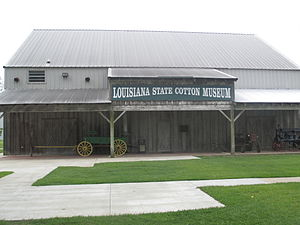 Lake Providence, Louisiana - Louisiana State Cotton Museum in 2013