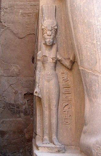 Puduḫepa - Image: Louxor Nefertari 0805