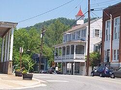 Front Street In Lovingston