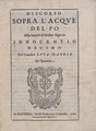 Luca Danesi – Discorso sopra l'acque del Po alla santità di nost, 1646 - BEIC 13318244.tif