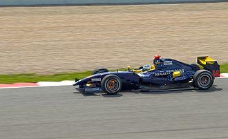 Luca Filippi - Filippi driving for Super Nova at the Catalunya round of the 2009 GP2 Series season.