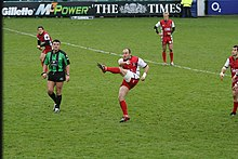 Description de l'image Ludovic Mercier Gloucester v Saracens 26 november 2005.jpg.