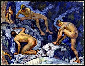 Ludwig von Hofmann - Image: Ludwig von Hofmann, Die Quelle (1913)