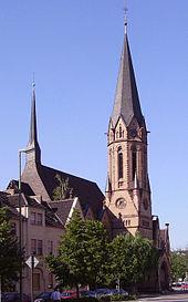 Kirche ludwigshafen mundenheim katholische St. Sebastian