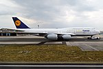 Lufthansa, D-ABYM, Boeing 747-830 (44388470091).jpg
