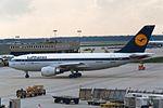 """Lufthansa Airbus A310-203 D-AICF """"Rüdesheim am Rhein"""" (26522128850).jpg"""