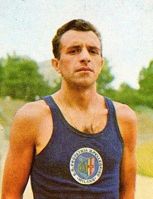 Luigi Conti (athlete) - Image: Luigi Conti 1966
