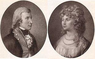 Das Königspaar 1798 (Stich: Meno Haas) (Quelle: Wikimedia)
