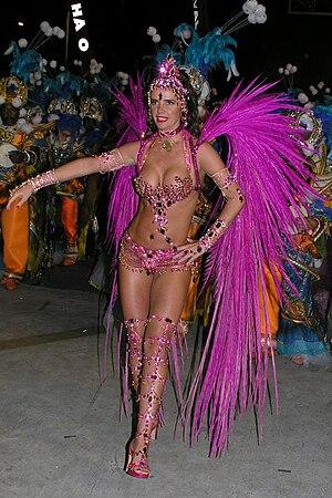 Brazilian carnival queen Luma de Oliveira
