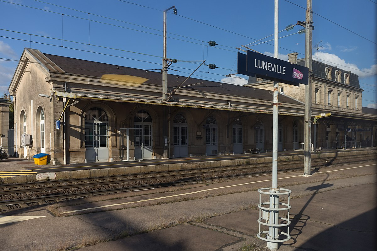 Gare de lun ville wikip dia for Piscine de luneville