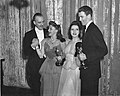 Lunt, Rogers, Fontanne, Stewart Oscars 1941.jpg
