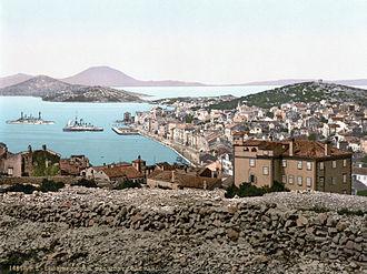 Austrian Riviera - Mali Lošinj circa 1900
