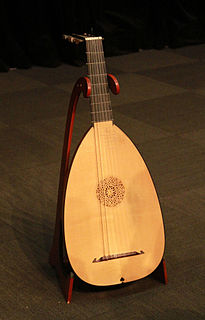 Lute musical instrument