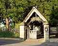 Lych Gate of All Saints Parish Church Ockbrook.jpg