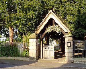Ockbrook - Lych Gate of All Saints Parish Church