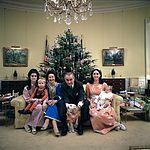 Lyndon B. Johnson's family Xmas Eve 1968
