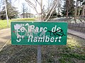 Lyon 9e - Panneau parc de Saint-Rambert (fév 2019).jpg