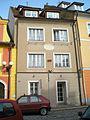 Měšťanský dům, Růžový kopeček 9, Cheb.JPG
