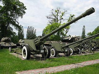 130 mm towed field gun M1954 (M-46) Field gun