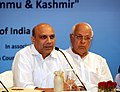 M.M. Pallam Raju addressing a Conference of the Stake-holders of the Special Scholarship Scheme for Jammu & Kashmir, in New Delhi. The Union Minister for New and Renewable Energy, Dr. Farooq Abdullah is also seen.jpg