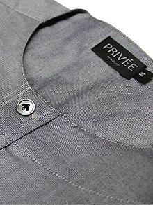 Zero collar Shirt