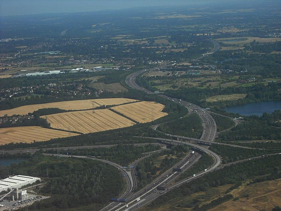 M4 M25 junction