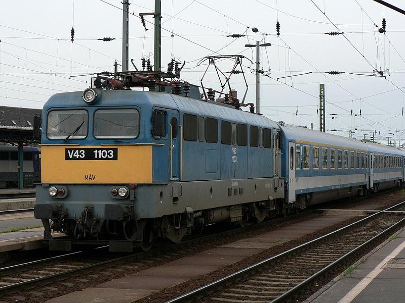 szilícium egyenirányítós mozdony