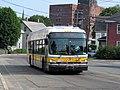MBTA route 350 bus on Mystic Street, July 2015.JPG