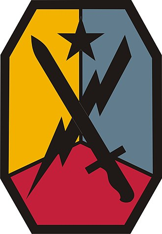 Fort Benning - Image: M Co E shoulder patch