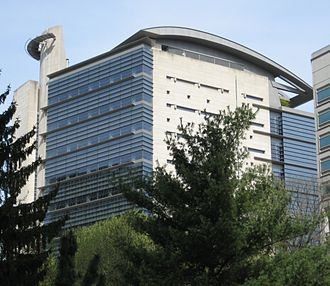 Architecture of Portland, Oregon - Mark O. Hatfield United States Courthouse top.