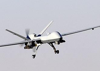111th Fighter Wing - MQ-9 Reaper in flight (2007)