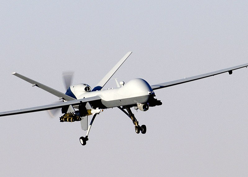 File:MQ-9 Reaper in flight (2007).jpg