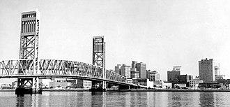 Main Street Bridge (Jacksonville) - Image: MSB1962
