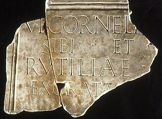 Inscription funéraire Ra 335