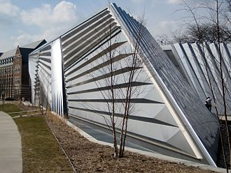 Michigan State University - Eli and Edythe Broad Art Museum at East Lansing, Michigan.
