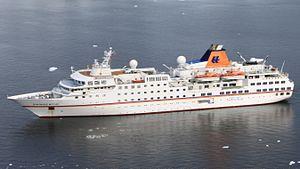 MS Hanseatic - Image: MS Hanseatic Paradise Bay (cropped)