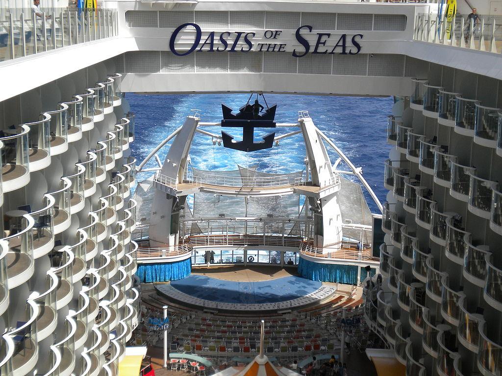 Oasis of the seas hook up