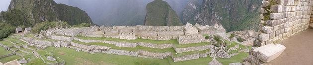 Foto Panorâmica de Machu Picchu II.