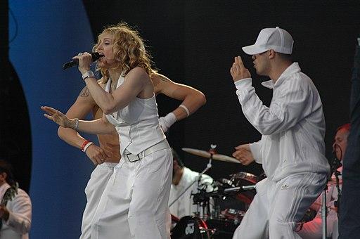 Madonna @ Live 8 2