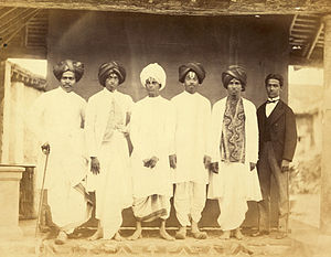 University of Madras - Six prize students for the year 1865 from the University of Madras