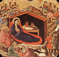 The Nativity of Christ (Byzantine icon).