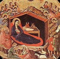 The Nativity of Christ (Byzantine icon).