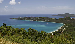 Northside, Saint Thomas, U.S. Virgin Islands - Magens Bay in northern Saint Thomas is a popular tourist attraction in the U.S.V.I.