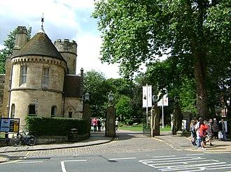 York Museum Gardens - Image: Main Gates of York Museum Grounds, York