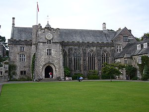 Dartington Hall - Entrance to the Great Hall