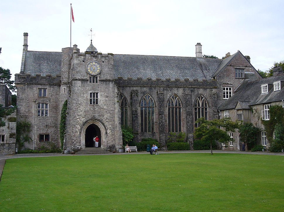 Main Hall entrance Dartington